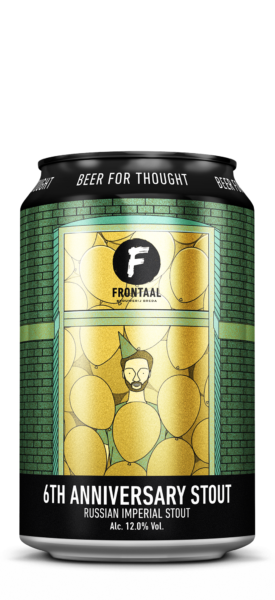 6th Anniversary Stout | Brouwerij Frontaal