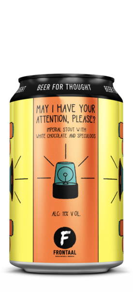 May I Have Your Attention, Please | Brouwerij Frontaal