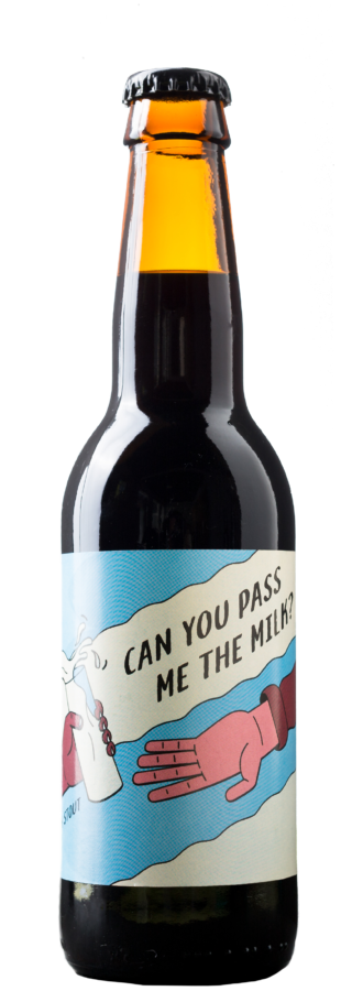 Can you pass me the milk? | Brouwerij Frontaal