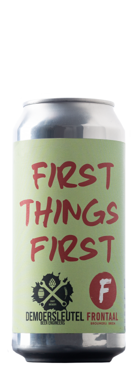 First things first | Brouwerij Frontaal